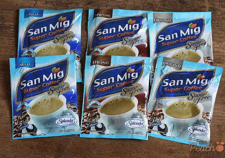 San Mig Super Coffee Sugar Free My Every Day GuiltFree