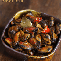 Spicy Adobong Tahong (KETO, Low Carb)