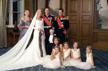Prince Haakon and Mette-Marit Wedding Party