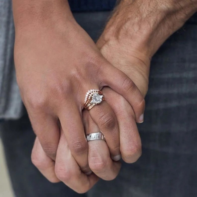 Engagement Ring vs Wedding Ring  The Pearl Source
