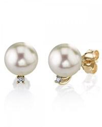 Akoya Pearl & Diamond Sasha Earrings