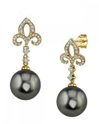 Tahitian South Sea Pearl Earrings | The Pearl Source
