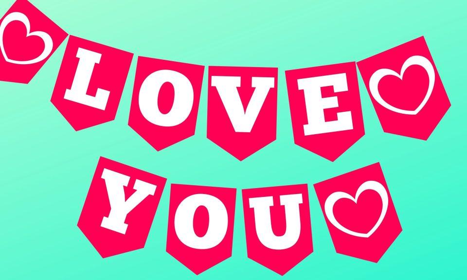 Happy Valentines Day Banner PDF