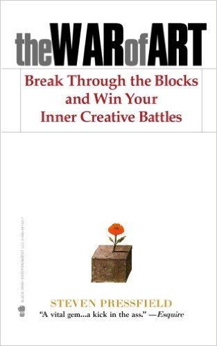 The War of Art: Break Through the Blocks & Win Your Inner Creative Battles Book Cover