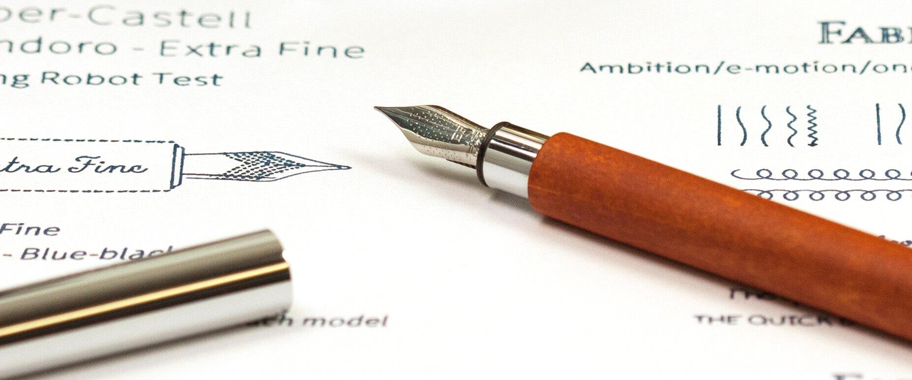 extra fine fountain pen
