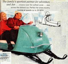 Mid 1960s Snowcruiser / Snowmobile