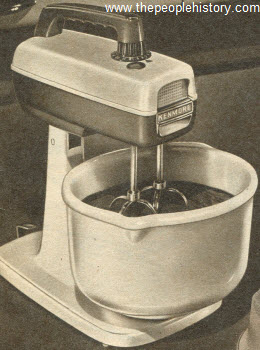 kitchen aid glass bowl pictures of cabinets electrical goods and appliances in the 1950's prices ...