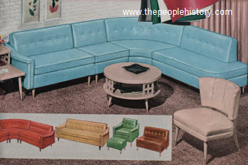 side chairs with arms for living room wallpapers furniture your home in the 1950's prices and examples