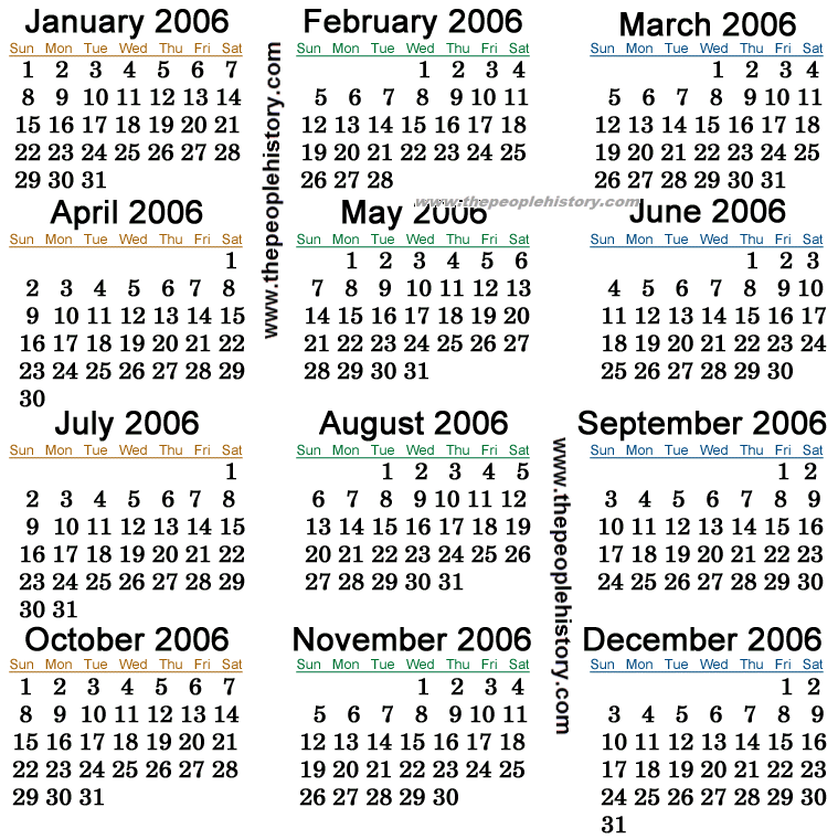 what happened in 2006