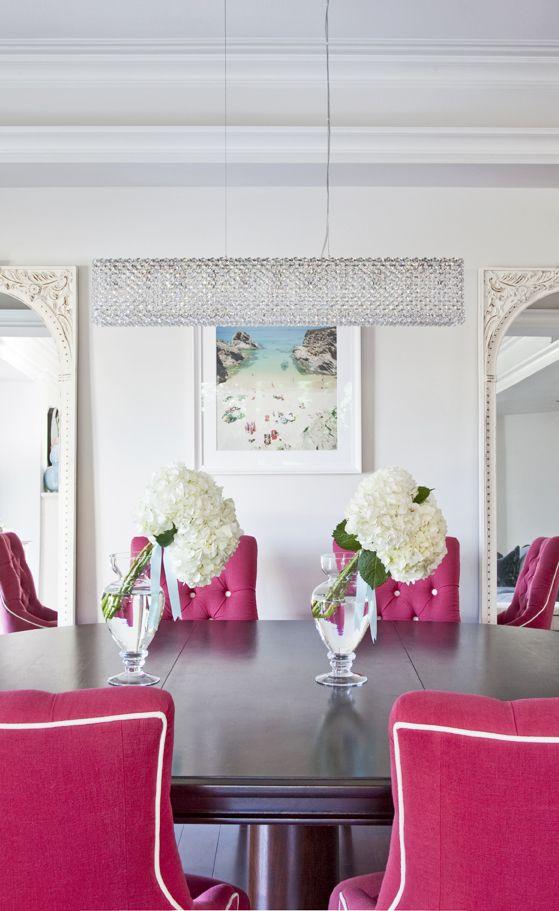 Magenta Living Room Ideas
