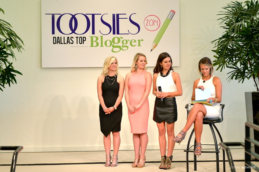 Tootsies Dallas Top Blogger 2014