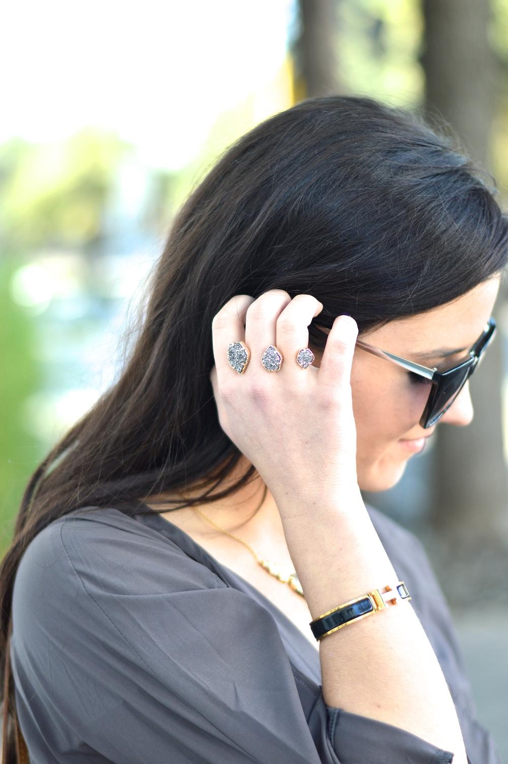 Kendra Scott two finger ring