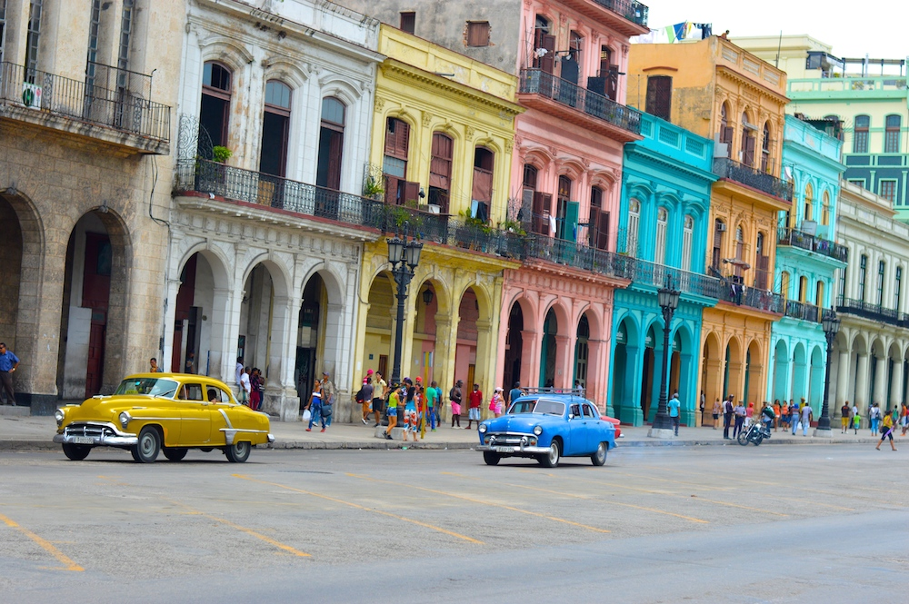 Colorful Cuba Streets