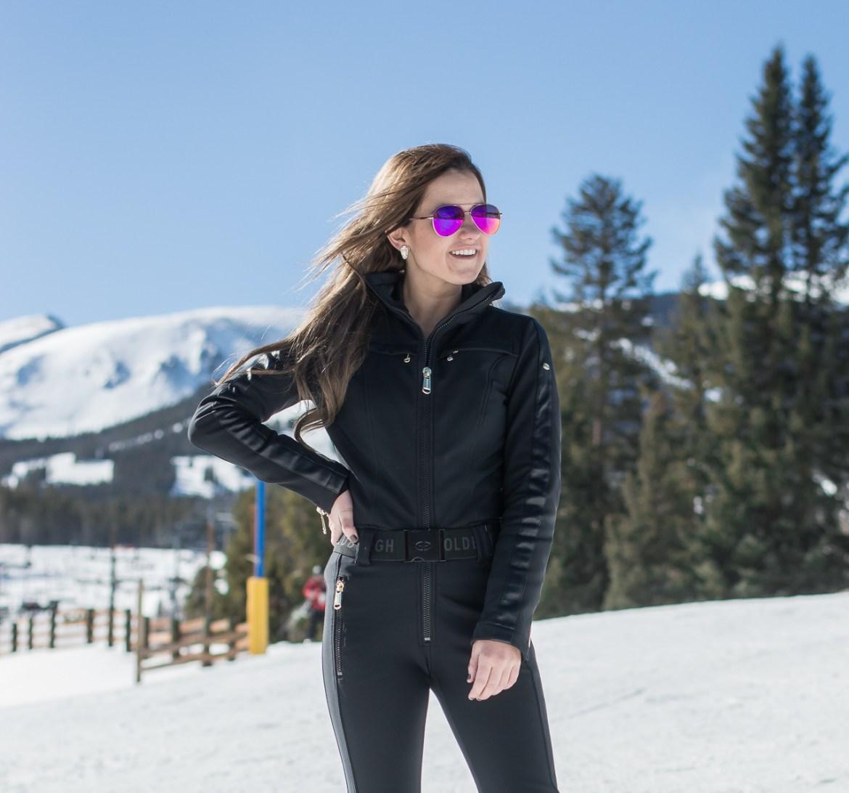 Fashionable ski wear