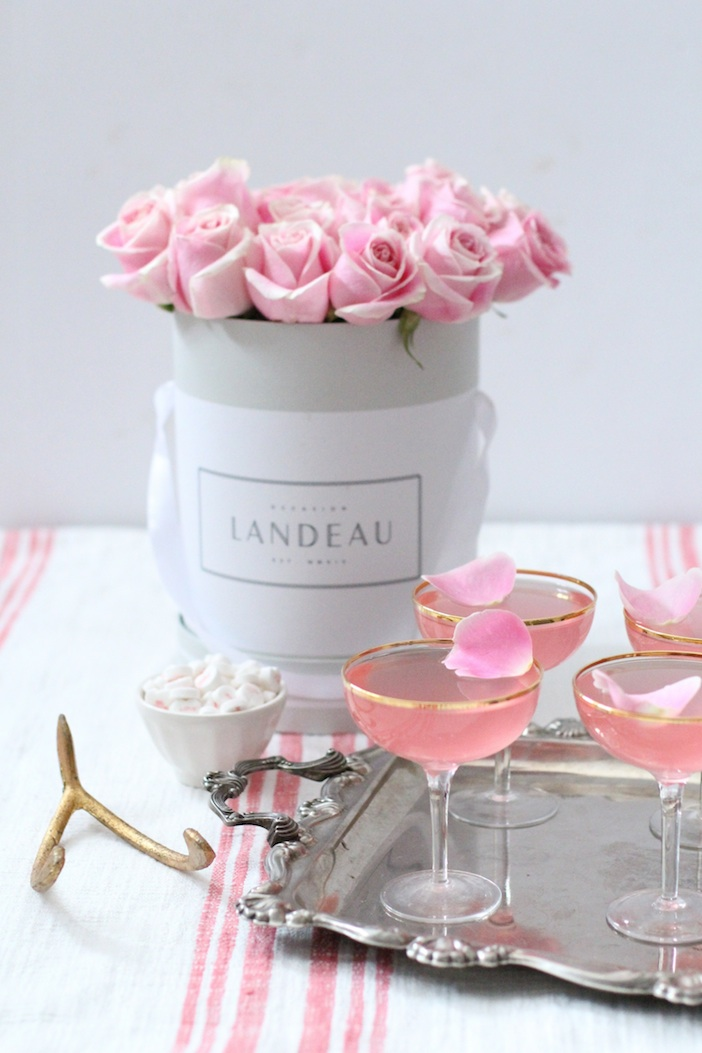 Lady Rose Cocktail Recipe Galentines Valentines