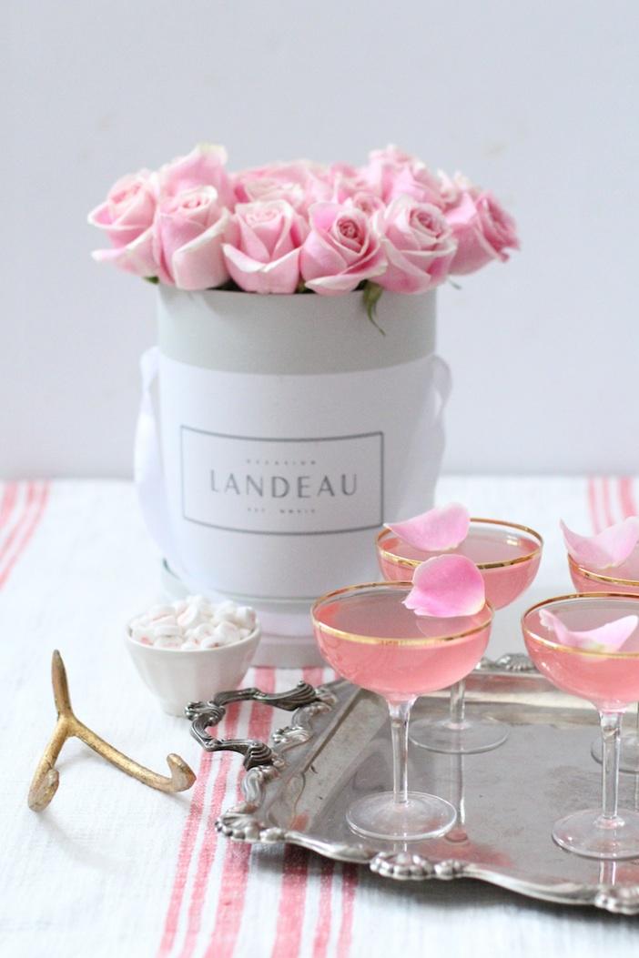 Lady Rose Cocktail Recipe Galentines Valentines