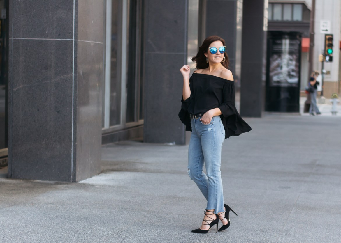 Mother Crop Flare Jeans (2 of 13)