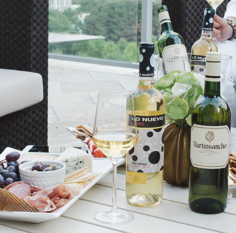 Rueda Verdejo white wine happy hour