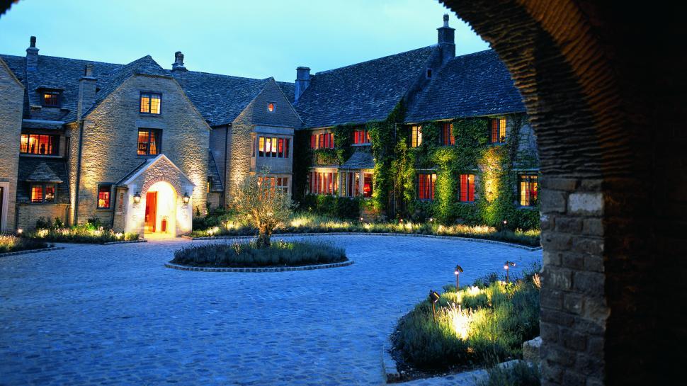 Whatley Manor Courtyard