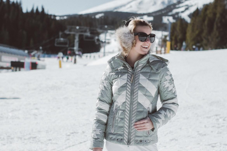 bogner ski parka fur Saint Bernard