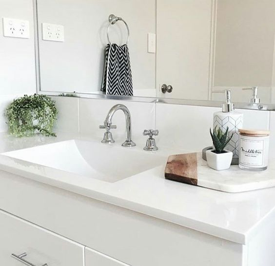 8 Chic And Easy Ways To Revamp Your Bathroom Counter The