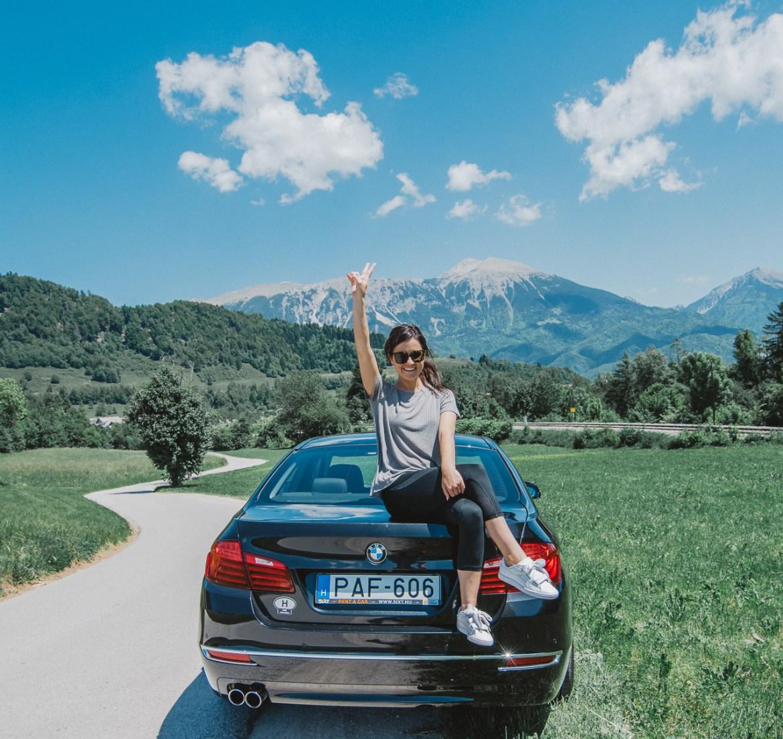 Bled Slovenia Alps Road Trip Triglav National Park