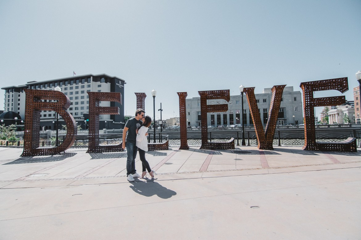 Believe Burning Man Sign Reno
