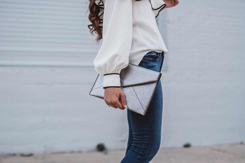 Amanda Uprichard One Sleeve Blouse-22