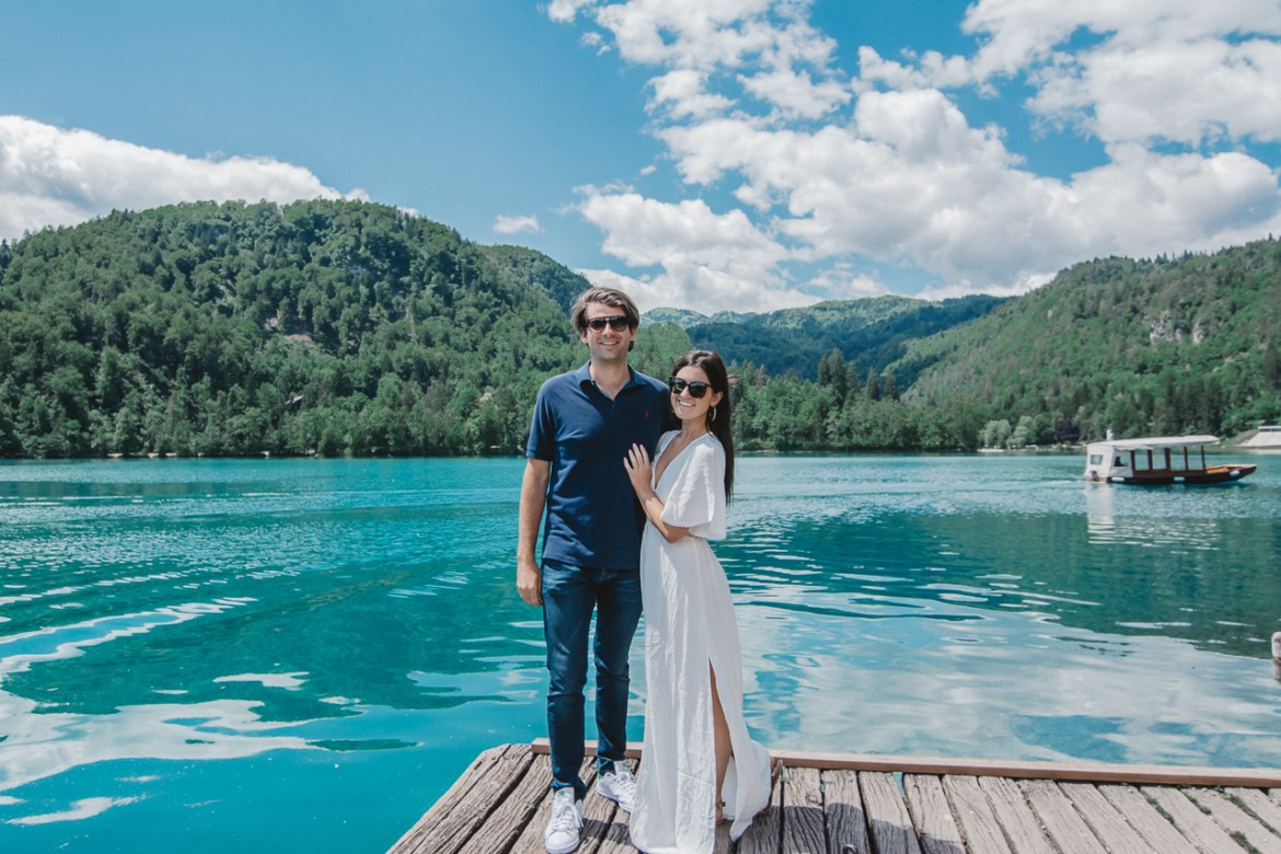 Bled Island Couple Photo