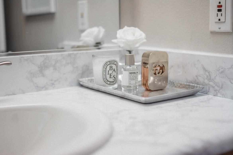 Marble Contact Paper Bathroom Vanity