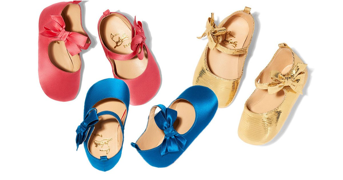 58a6aa00da17 Loubibaby  Christian Louboutin Launches Children s Shoes With Goop