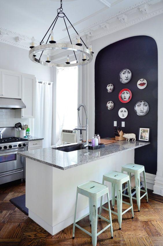 Fornasetti Plates Kitchen