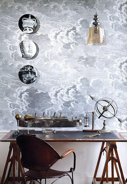 Fornasetti Plates Wall Decor