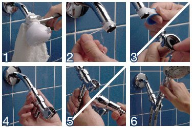 How to change a shower head  The Perfect Baths