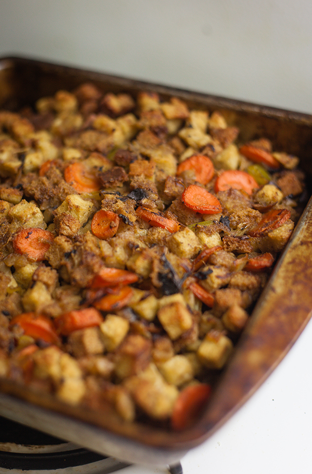 Sara's Herb and Mushroom Stuffing Recipe