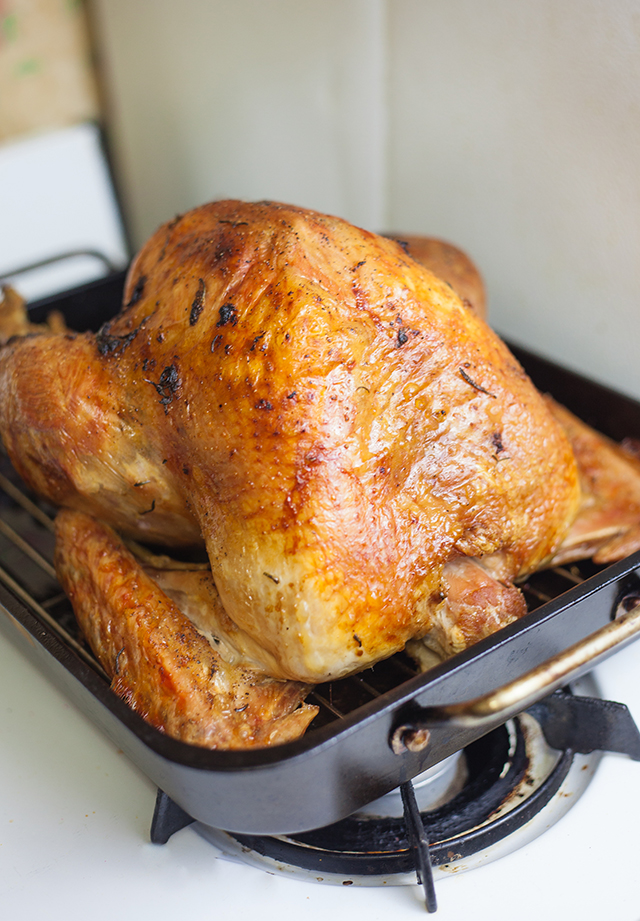 Rosemary & Olive Oil Roasted Turkey Recipe