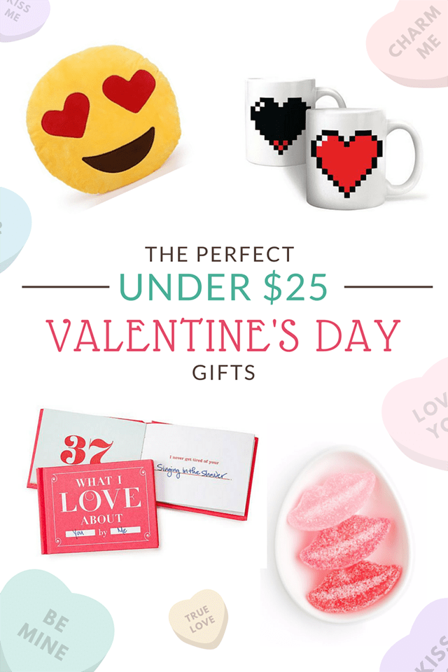 The Perfect Under $25 Valentine's Day Gifts
