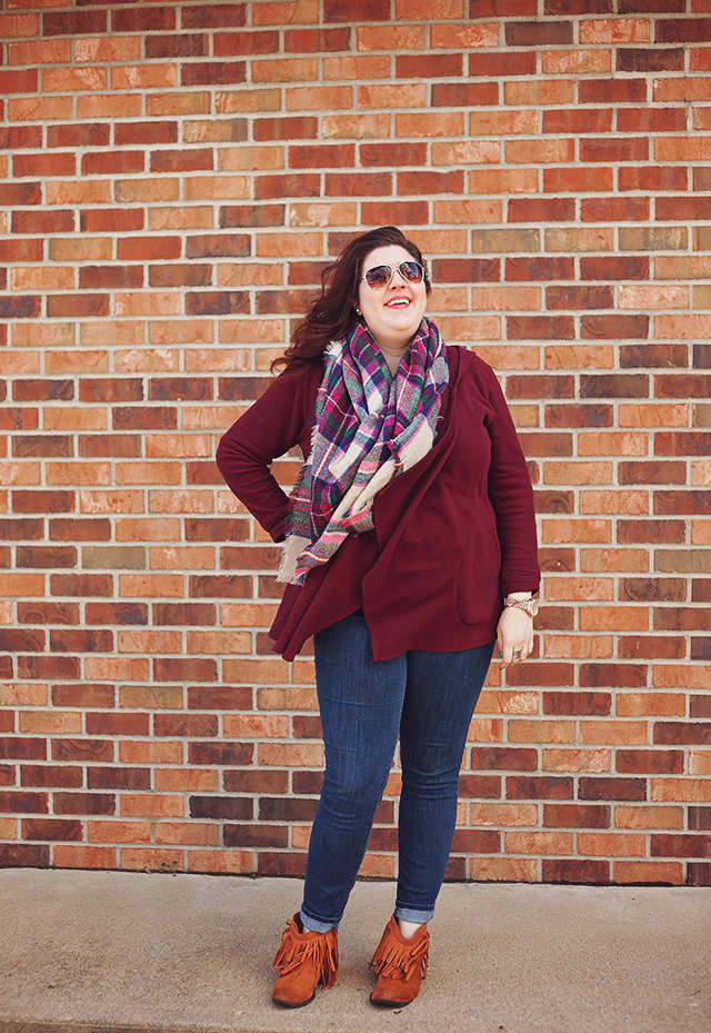 Wearable Wednesday:Plaid and Fringe