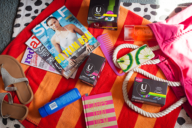 Our Beach Bag Essentials with U by Kotex®