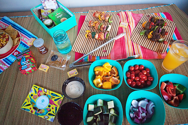 How to Host a Killer Kabob Party!