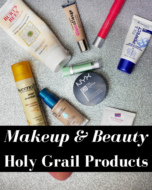Makeup and Beauty Holy Grail Products