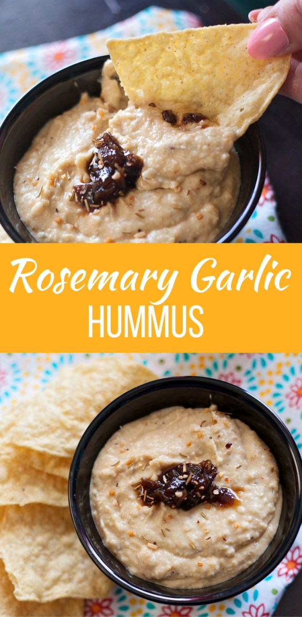 Rosemary Garlic Hummus