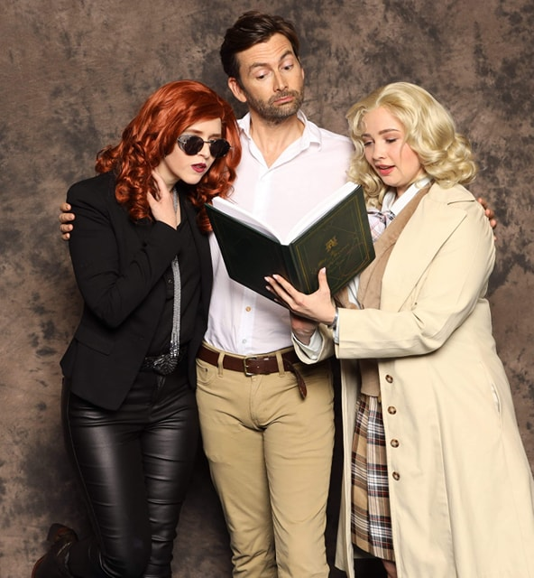 ardella and Echoing Artemis with the delightful David Tennant