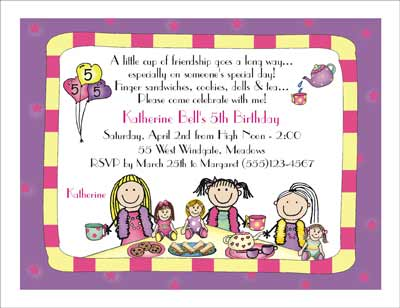 wording for birthday tea party invitations  wedding invitation sample, Party invitations