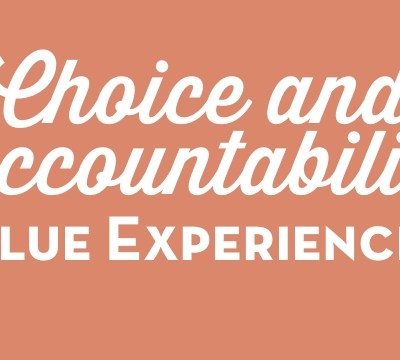 Choice and Accountability Value Experience 1