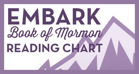 Embark! Book of Mormon Reading Chart Bookmark