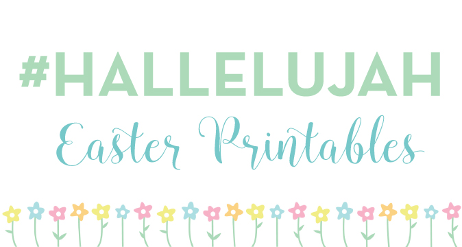 #Hallelujah Easter Printable Journaling Cards
