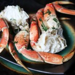 Garlic and Herb Steamed Crab