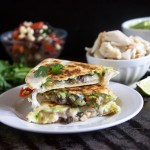 Lump Crab Avocado Quesadillas