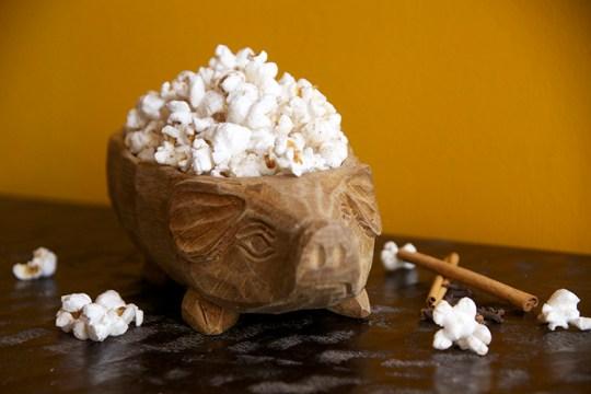 Pumpkin Spice Popcorn